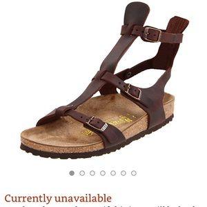 Rare Birkenstock Chania Gladiator Sandals